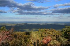 Wachusett in the afternoon royalty free stock images