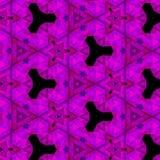 Waciani purpurowi fractal trójboki fotografia royalty free