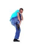 Wacking dancer man Royalty Free Stock Image