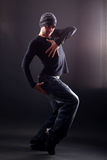 Wacking man dancer Royalty Free Stock Photos