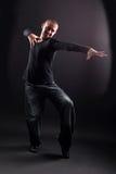 Wacking man dancer royalty free stock photo