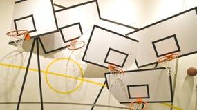Wacky basketball Royalty Free Stock Images