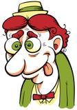 Wacky Cartoon Man Royalty Free Stock Images