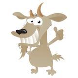 Wacky Goat Royalty Free Stock Photos