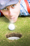 Wacky Golf Stock Image