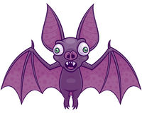 Wacky Vampire Bat. Vector cartoon illustration of a wacky vampire bat royalty free illustration