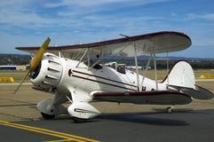 waco самолет-биплана Стоковое Изображение