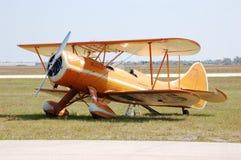 Waco biplan zdjęcie royalty free