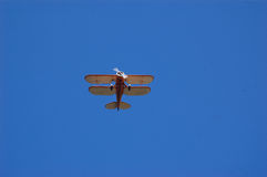 Waco Biplane. A Waco UPF7 biplane in Charlotte in Punta Gorda Florida stock images