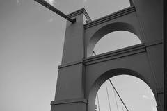 Waco-Brücke lizenzfreie stockbilder