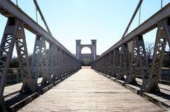 Waco Suspension Bridge Royalty Free Stock Photos
