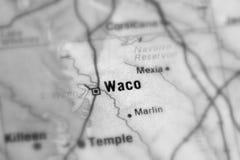 Waco, uma cidade no U S fotografia de stock