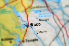 Waco, una ciudad en el U S foto de archivo