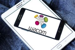 Wacom technology company logo Stock Images
