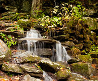 Waconah falls in Berkshires Stock Photo