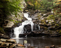 Waconah falls in Berkshires Stock Photography