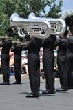 waconia школы парада полосы высокое маршируя Стоковое Изображение RF