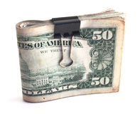 Wad of cash Stock Photography