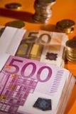 Wad delle banconote Fotografie Stock