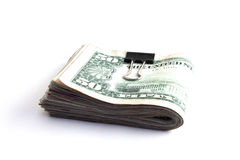 Wad des Bargeldes lizenzfreie stockfotos