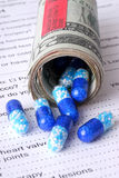 A Wad of Medicine Stock Photography