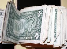 Wad of Money Stock Photography