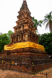 Wad-phya-wad pagoda at Nan Stock Images