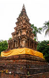 Wad-phya-wad pagoda at Nan Stock Photo