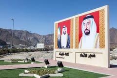 Władcy Zjednoczone Emiraty Arabskie Zdjęcia Royalty Free
