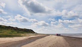 Wadden-Meer in Esbjerg, Dänemark Lizenzfreie Stockbilder