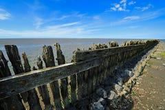 Wadden-Meer in Moddergat, die Niederlande lizenzfreie stockfotografie