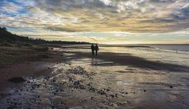 Wadden-Meer nahe Esbjerg, Dänemark Lizenzfreie Stockfotografie