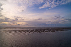 Wadden Sea Stock Photography