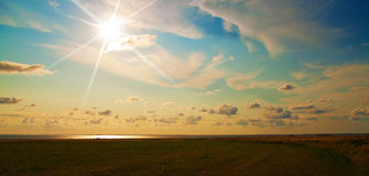 Wadden sea Royalty Free Stock Photo