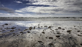 Wadden sea on Fano, Denmark Royalty Free Stock Photo
