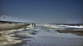 Wadden sea in Henne, Denmark. Wadden sea in Henne near Esbjerg, Denmark Stock Images