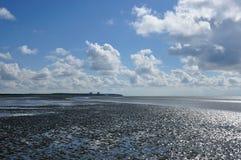 Wadden-sea Royalty Free Stock Photo
