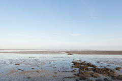 Wadden sea in Holland Royalty Free Stock Photography