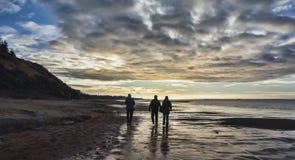 Wadden sea near Esbjerg, Denmark Stock Images