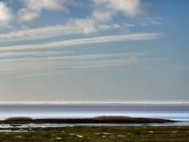 Wadden sea near Esbjerg, Denmark Stock Photography