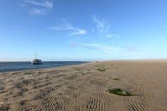 Wadden Sea in Schleswig Holstein Stock Photography