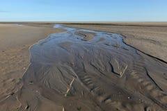 Wadden Sea in Schleswig Holstein Royalty Free Stock Photo