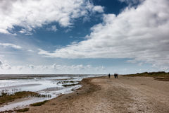 Wadden sea from Sonderho on Fano Denmark Stock Images