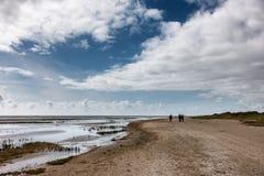 Wadden sea from Sonderho on Fano Denmark. Wadden sea from Sonderho on Fano in Denmark Stock Images