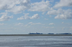 Wadden-sea Royalty Free Stock Images