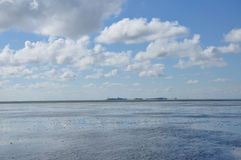 Wadden-sea Stock Images