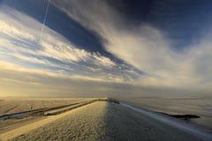 waddensea загородки dike Стоковое Фото