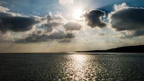 Waddensea and Vlieland, Holland Royalty Free Stock Image
