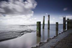 Waddenzee, Nederland /Netherlands fotografia stock
