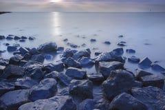 Waddenzee, Nederland /Netherlands immagini stock libere da diritti